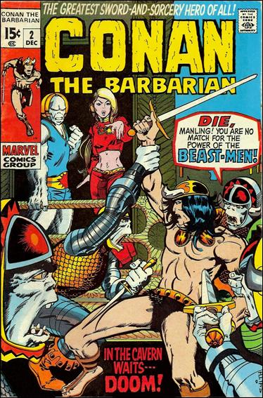 Conan the Barbarian (1970) 2-A by Marvel