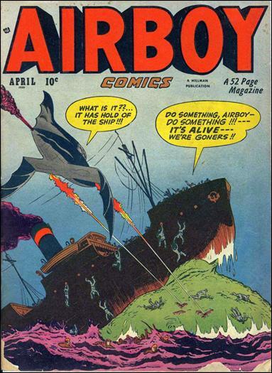 Airboy Comics (1950) 3-A by Hillman
