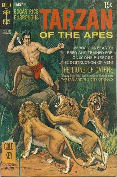 Tarzan (1962) 187-A by Gold Key