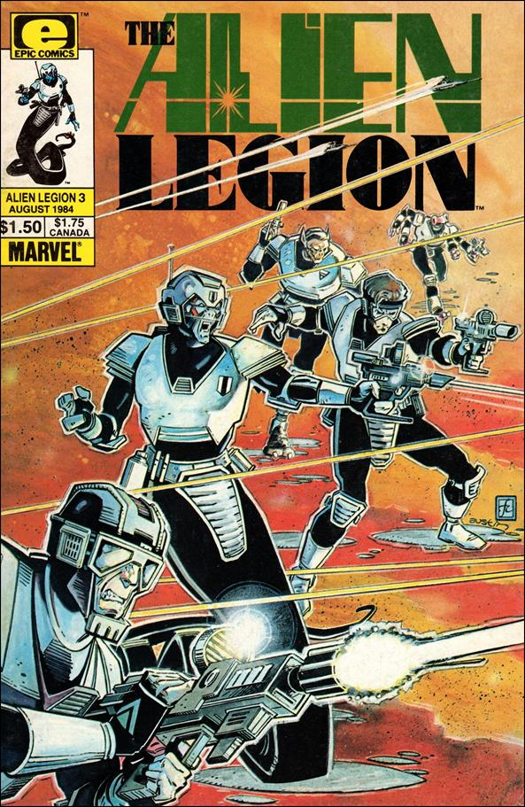 Alien Legion (1984) 3-A by Epic
