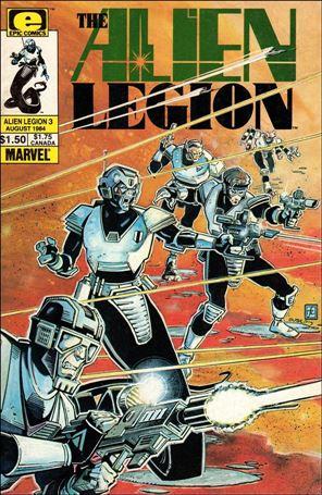Alien Legion (1984) 3-A