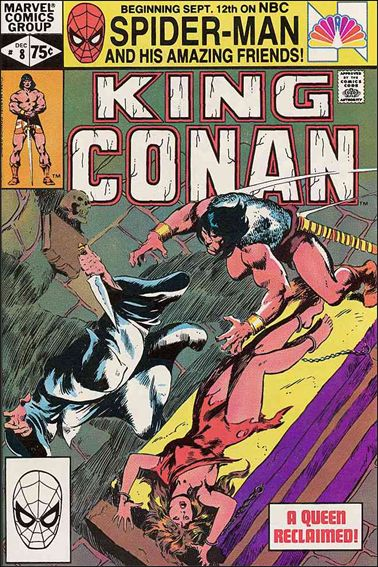 King Conan 8-A by Marvel