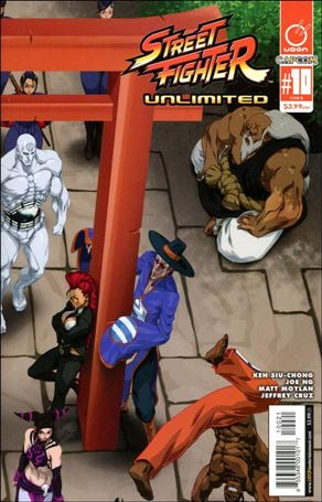 Street Fighter Unlimited 10-B