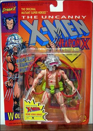"X-Men 5"" Action Figures Wolverine (4th Edition); Red Cables"