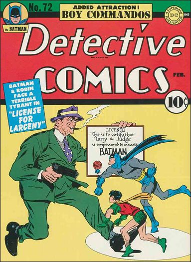 Detective Comics (1937) 72-A by DC