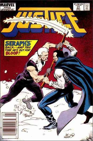 Justice (1986) 31-A by Marvel