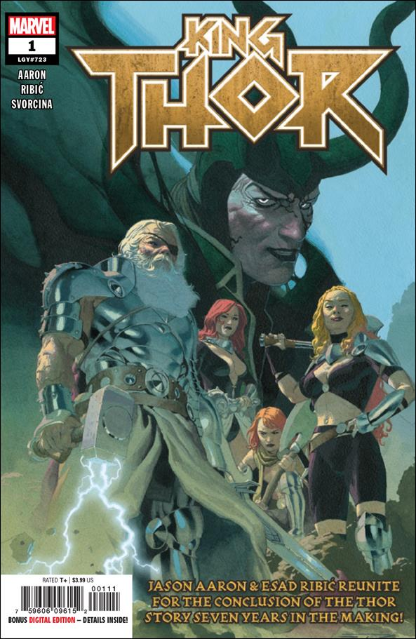 King Thor 1-A by Marvel