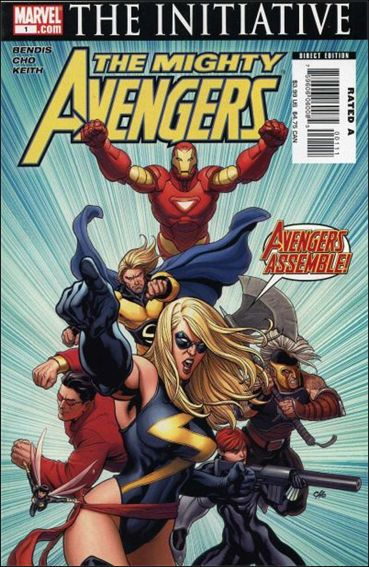 Mighty Avengers 1-A by Marvel