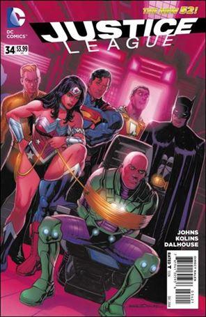 Justice League (2011) 34-D
