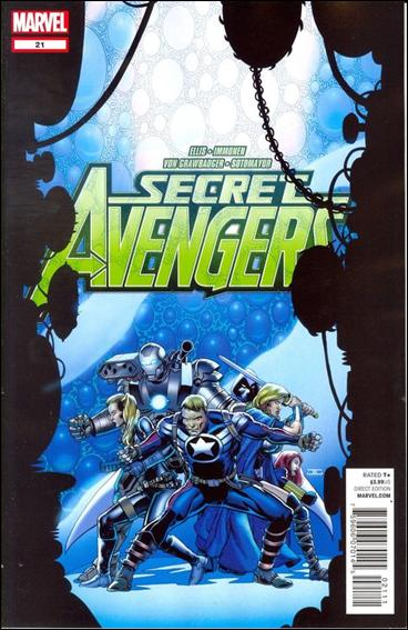 Secret Avengers (2010) 21-A by Marvel