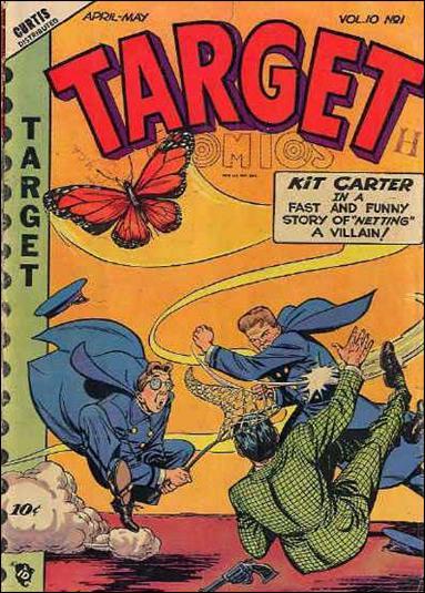 Target Comics (1949) 1-A by Premium