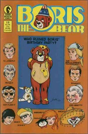 Boris the Bear 12-A
