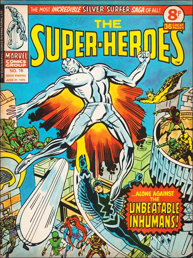 Super-Heroes (UK) 16-A by Marvel UK