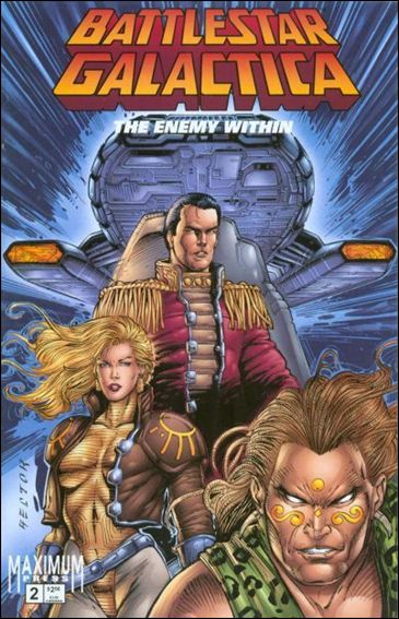Battlestar Galactica: The Enemy Within 2-A by Maximum Press