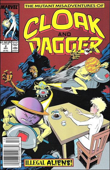Mutant Misadventures of Cloak and Dagger 2-A by Marvel
