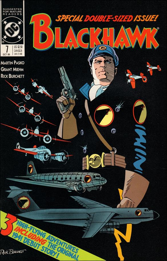 Blackhawk (1989)  7-A by DC