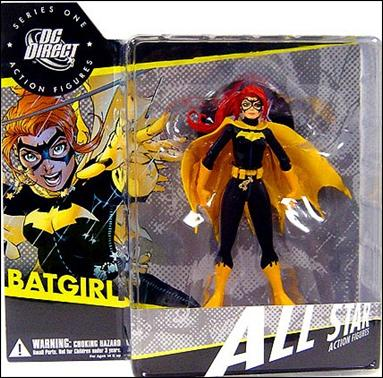 All Star Action Figures (Series 1) Batgirl by DC Direct