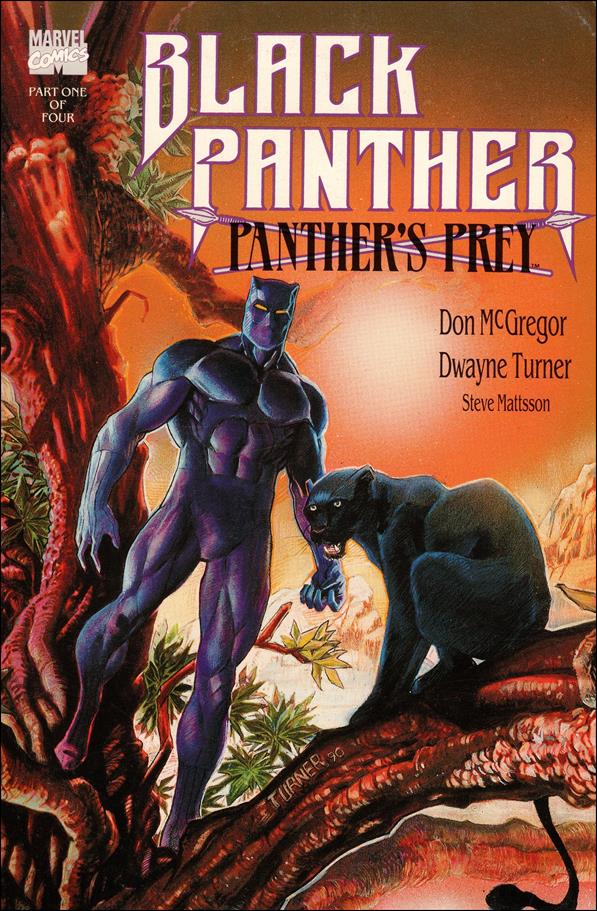 Black Panther: Panther's Prey 1-A by Marvel
