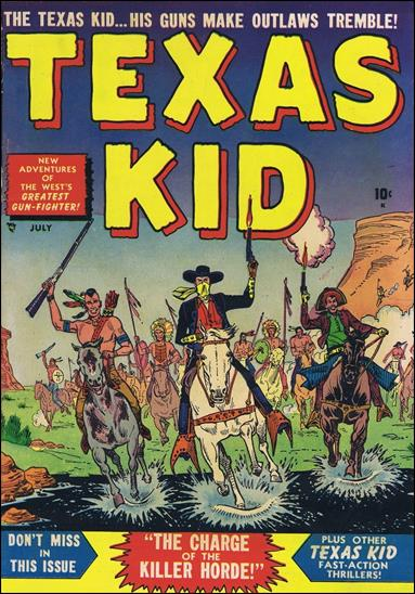 Texas Kid 4-A by Marvel