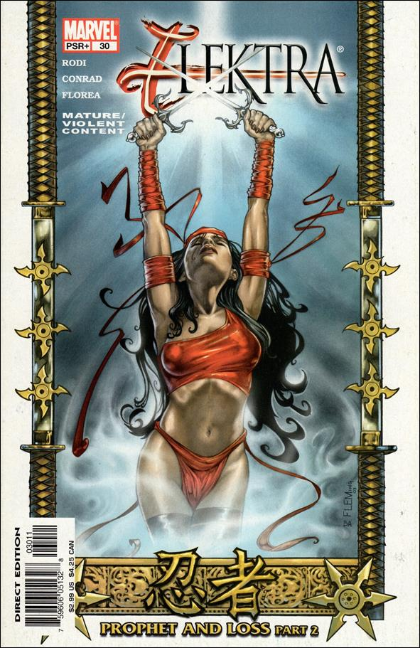 Elektra (2001) 30-A by Marvel