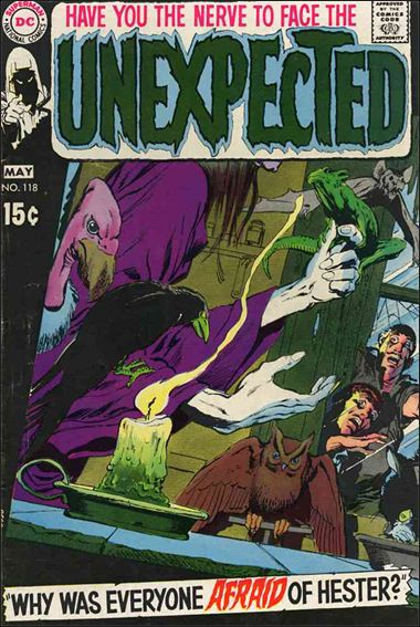 Unexpected (1968) 118-A by DC