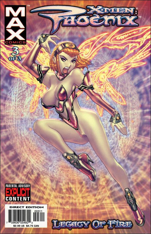 X-Men: Phoenix - Legacy of Fire 3-A by Max