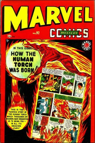 Marvel Mystery Comics (1939) 92-A by Timely