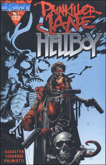 Painkiller Jane/Hellboy 1-B by Event Comics