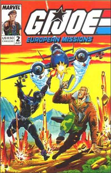 G.I. Joe: European Missions 2-A by Marvel