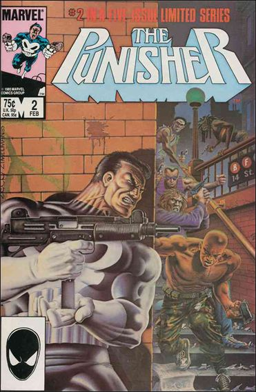 Punisher (1986) 2-A by Marvel