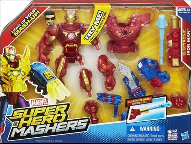 Marvel Super Hero Mashers (Electronic) Iron Man by Hasbro