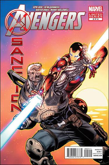 Avengers: X-Sanction 2-A by Marvel