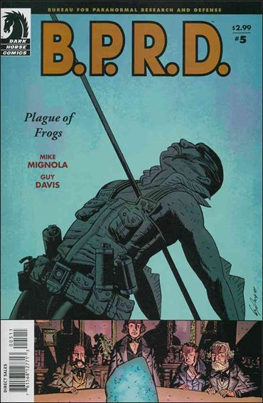 B.P.R.D.: Plague of Frogs 5-A by Dark Horse