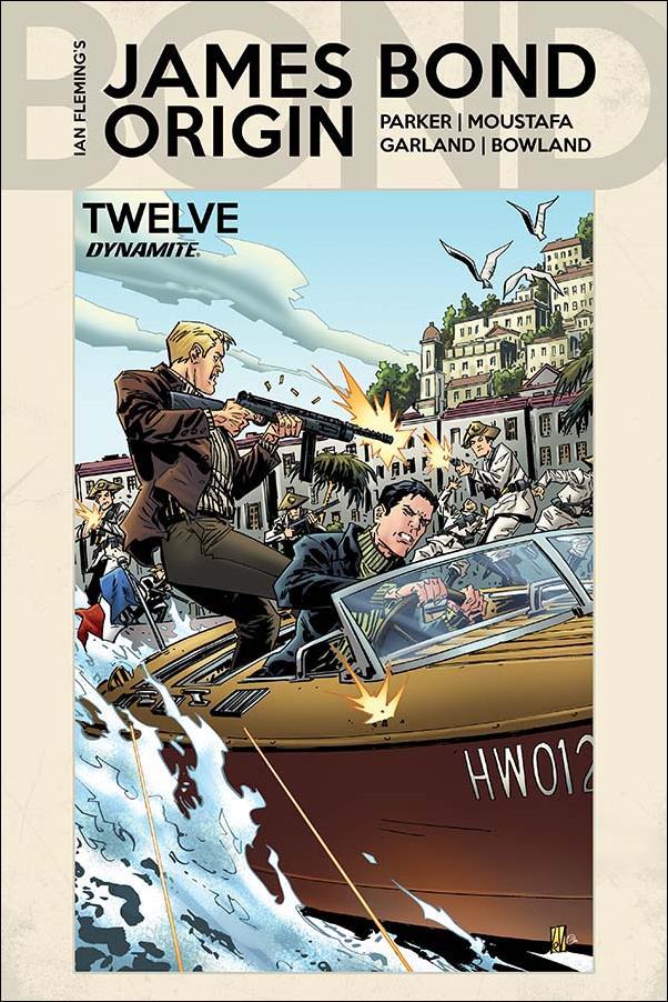James Bond: Origin 12-B by Dynamite Entertainment