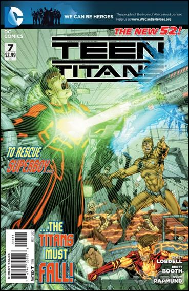 Teen Titans (2011) 7-A by DC