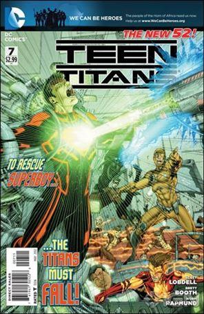 Teen Titans (2011) 7-A