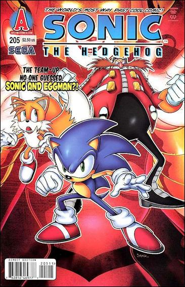 Sonic the Hedgehog (1993) 205-A by Archie