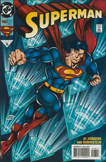 Superman (1987) 98-A by DC