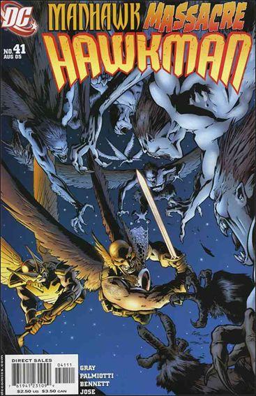 Hawkman (2002) 41-A by DC