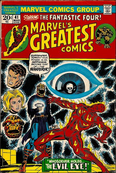 Marvel's Greatest Comics 41-A by Marvel