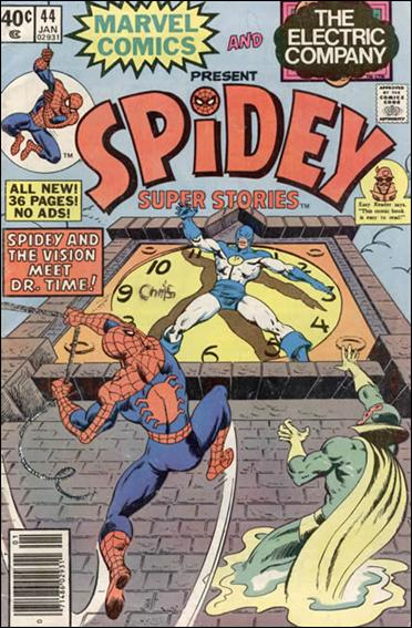 Spidey Super Stories 44-A by Marvel