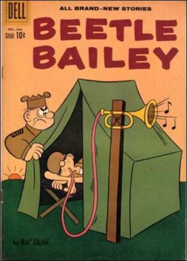 Beetle Bailey (1956) 30-A by Dell