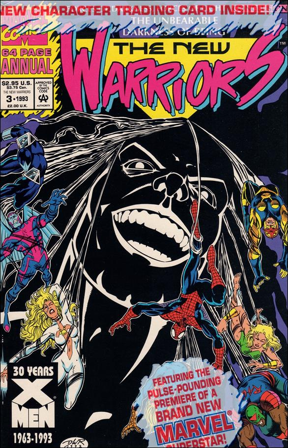 New Warriors Annual 3-A by Marvel