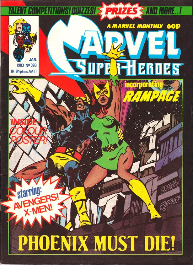 Marvel Superheroes (UK) 393-A by Marvel UK