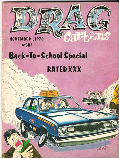 Drag Cartoons (1970) 4-A by Professional Services
