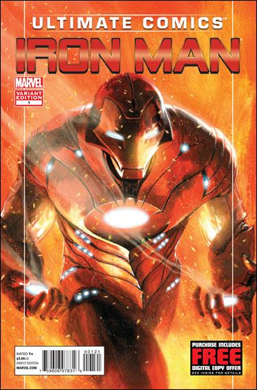 Ultimate Comics Iron Man 1-B by Marvel