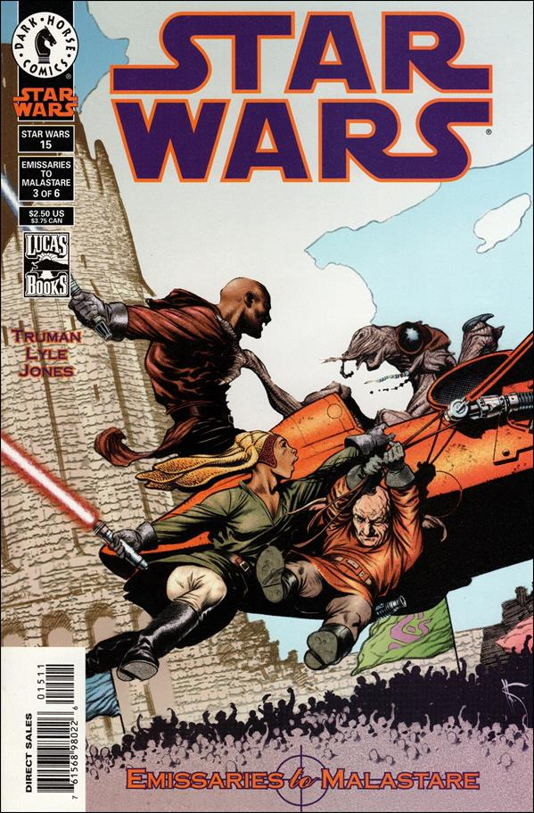 Star Wars/Star Wars Republic 15-A by Dark Horse