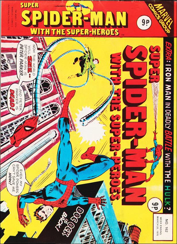 Spider-Man: Comics Weekly (UK) 162-A by Marvel UK