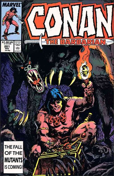 Conan the Barbarian (1970) 201-A by Marvel