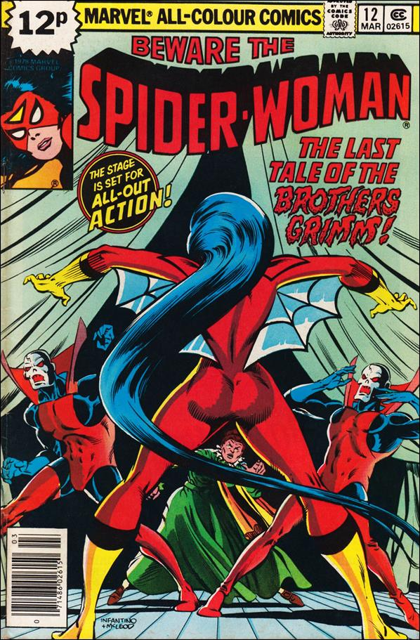 Spider-Woman (1978) 12-B by Marvel